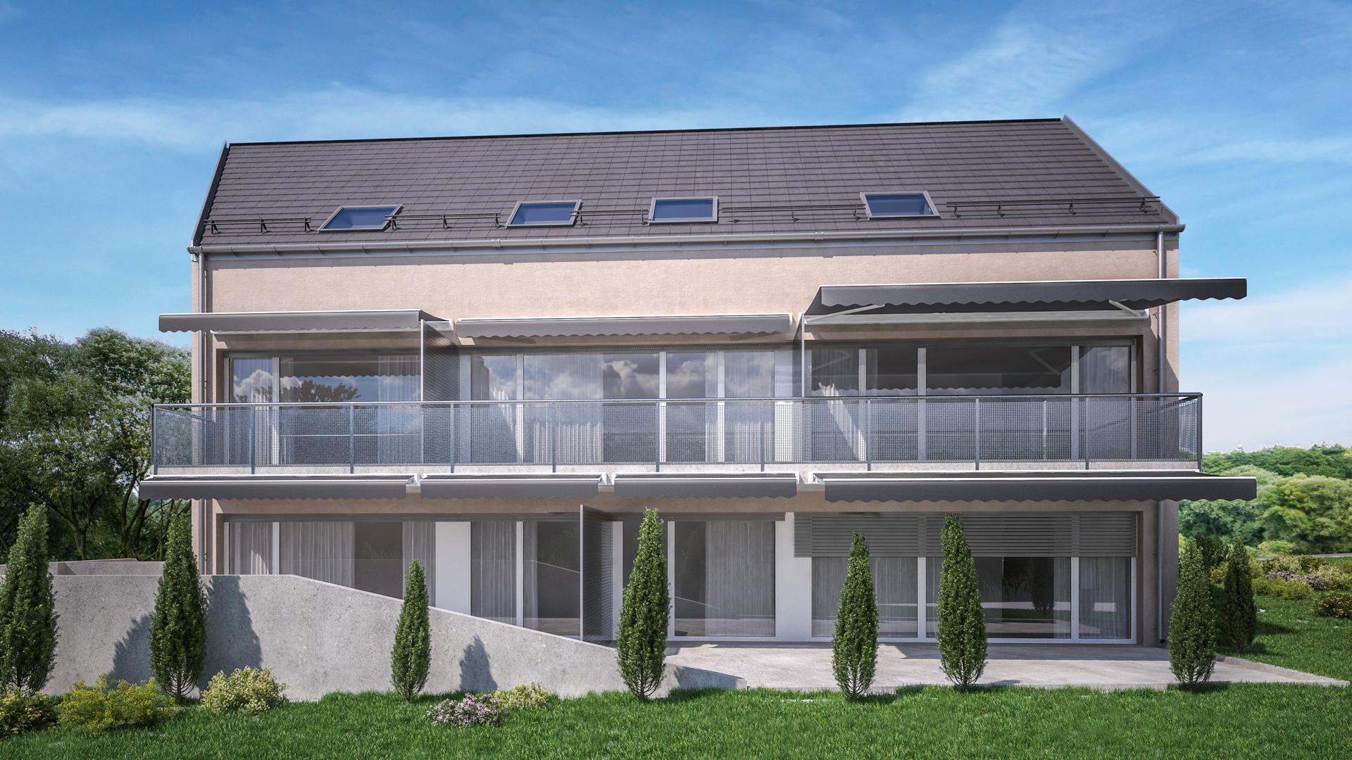 C3 Concept, visualisation 3D à Bulle. Immeuble à Gossens