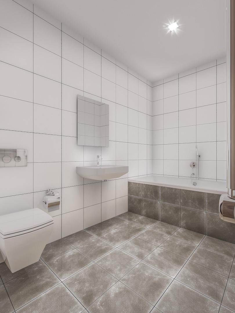 C3 Concept, visualisation 3D à Bulle. Immeuble à Gossens intérieurs