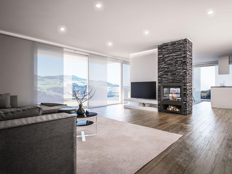 C3 Concept, visualisation 3D à Bulle. villas Le Bry intérieur